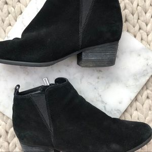 Blondo Shoes - Blondo Black Suede Waterproof Ankle Boots